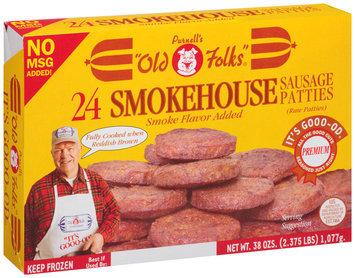 Purnell's Old Folks® Smokehouse Sausage Patties 38 oz.-24 ct. Box