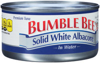 Bumble Bee® Premium Solid White Albacore in Water 7 oz. Can