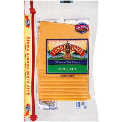 Land O'Lakes® Colby Premium Deli Cheese Slices 8 oz.