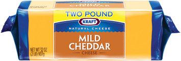 Kraft Natural Cheese Mild Cheddar Cheese 32 oz. Brick