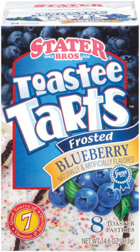 Stater Bros. Toastee Tarts Frosted Blueberry Toaster Pastries 8 Ct Box