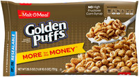 Malt-O-Meal® Golden Puffs® Cereal 26.5 oz. Bag