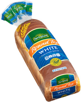 Springfield® Round Top White Bread 16 oz. Bag