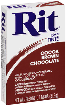 Rit® All-Purpose Concentrated Cocoa Brown Dye 1.125 oz. Box