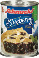 Schnucks® Blueberry Pie Filling or Topping 21 oz Can