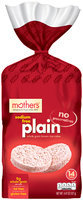 Mother's® Sodium Free Plain Brown Rice Cakes 14 ct Bag
