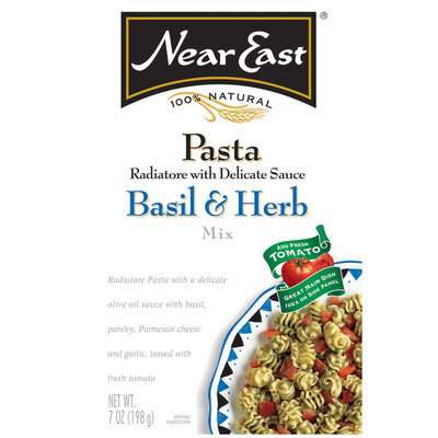 Near East Basil & Herb Radiatore Pasta Mix 7 Oz Box