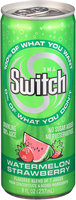 The Switch® Watermelon Strawberry Sparkling 100% Juice 8 fl. oz. Pull-Top Can