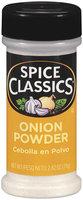 Spice Classics® Onion Powder 2.62 oz. Shaker