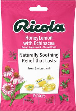 Ricola Honey Lemon with Echinacea Cough Suppressant Throat Drops