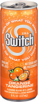 The Switch® Orange Tangerine Sparkling 100% Juice 8 fl. oz. Pull-Top Can
