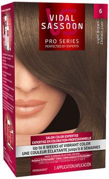 Vidal Sassoon Pro Series 6 Light Brown Hair Color Kit