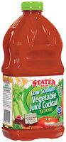 Stater Bros. Low Sodium Vegetable Juice Cocktail 64 Fl Oz Plastic Container