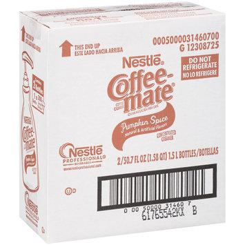 Nestlé Coffee-mate Pumpkin Spice Liquid Coffee Creamer 50.7 fl. oz. Bottle