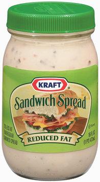 Kraft Specialty Sauces Reduced Fat Sandwich Spread 16 Oz Jar