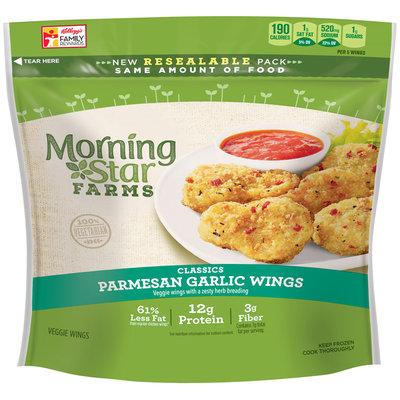 MorningStar Farms® Classics Parmesan Garlic Wings 10 oz. Pouch
