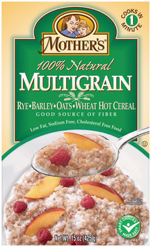 Mother's Multigrain 100% Natural Hot Cereal 15 Oz Box