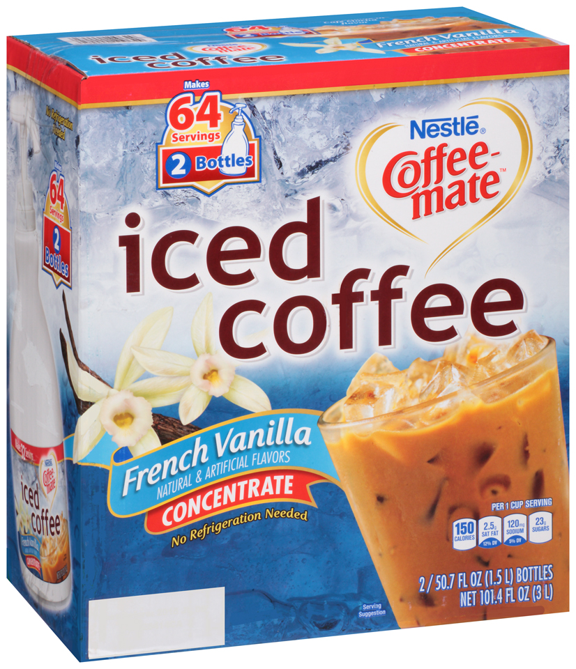 Nestlé Coffee-mate French Vanilla Iced Coffee Concentrate