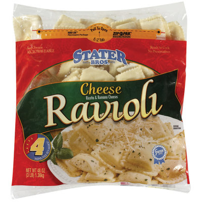 Stater Bros. Cheese Ravioli