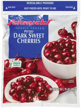 Schnucks Pitted Dark Sweet Freshly Frozen Cherries 12 Oz Bag