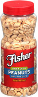 Fisher® Unsalted Dry Roasted GoldenRoasts® Peanuts 12 oz. Jar