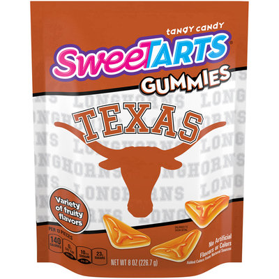 SWEETARTS Gummies University of Texas Recloseable 8 oz. Bag