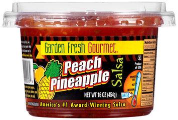 Garden Fresh Gourmet® Peach Pineapple Salsa 16 oz. Tub
