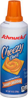 Schnucks® Cheezy Does It® Sharp Cheddar Pasteurized Cheese Snack 8 oz. Aerosol Can