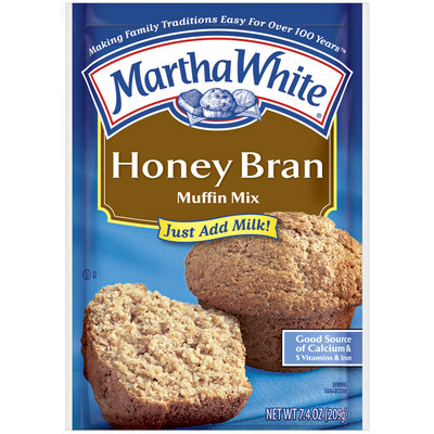 Martha White Honey Bran Muffin Mix 7.4 oz. Packet