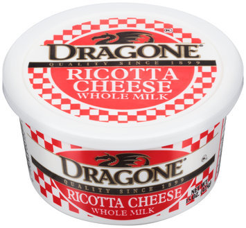 Dragone® Ricotta Cheese 15 oz. Tub
