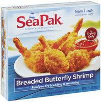 SeaPak ™ Shrimp 7 Seafood Co breaded butterfly Shrimp 14 oz box