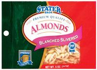 Stater Bros. Blanched Slivered. Almonds 5 Oz Peg