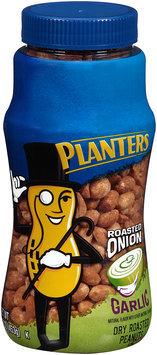 Planters Roasted Onion Garlic Dry Roasted Peanuts Jar