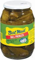 Best Maid Dill Pickles 32 Oz Jar