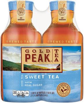 Gold Peak Sweet Tea Iced Tea 2-59 fl. oz. Plastic Carafe