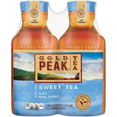 Gold Peak Sweet Tea Iced Tea 2-59 fl. oz. Plastic Carafe