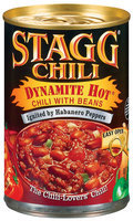 STAGG CHILI Dynamite Hot W/Beans Chili 15 OZ CAN