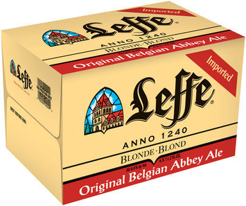 Leffe Blonde 11.2 Oz 4-6 Pk Beer 24 Pk Glass Bottles
