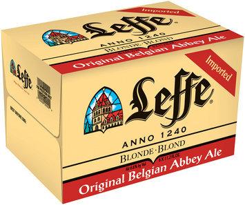 Leffe Blonde 11.2 Oz 4-6 Pk Beer 24 Pk Glass Bottles