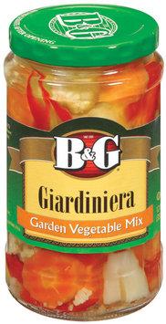 B&G Giardiniera Garden Vegetable Mix 12 Fl Oz Jar