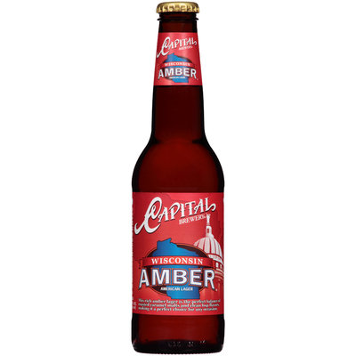 Capital Brewery Wisconsin Amber American Lager