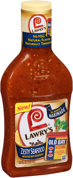 Lawry's® Zesty Seafood with Old Bay® Seasoning 30 Minute Marinade 12 fl. oz. Bottle