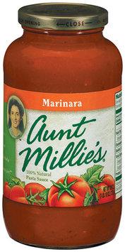 AUNT MILLIE'S Marinara Pasta Sauce 26 OZ JAR