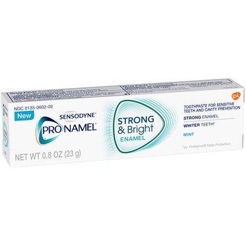 Sensodyne® ProNamel® Mint Toothpaste 0.8 oz. Box