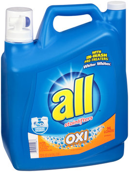 all® OXI Laundry Detergent 96 Loads 172 fl. oz. Bottle