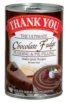 Thank You The Ultimate Chocolate Fudge Pudding & Pie Filling 15.75 Oz Can
