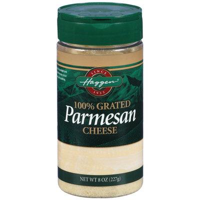 Haggen Parmesan 100% Grated Cheese 8 Oz Shaker