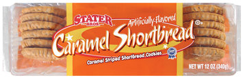 Stater Bros. Caramel Shortbread Cookies 12 Oz Tray