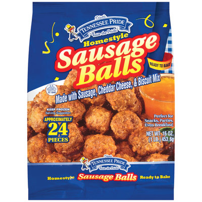 Tennessee Pride Homestyle Sausage Balls 16 Oz Bag