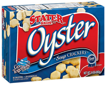 Stater Bros.  Soup Oyster Crackers 14 Oz Box